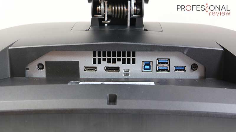 Acer Predator X35 puertos