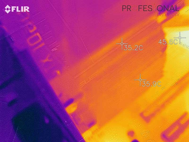 Asus PCE-AX58BT Temperatura