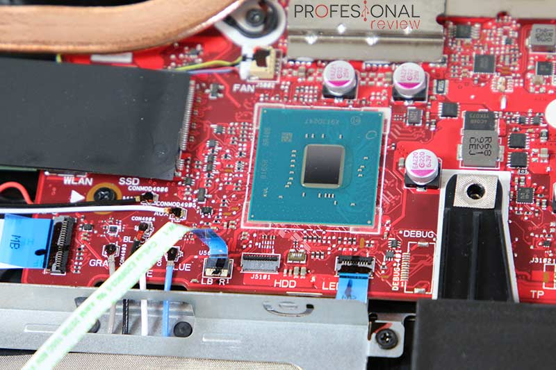 Asus ROG Strix SCAR III G531GW Hardware