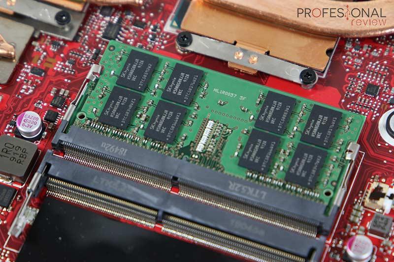Asus ROG Strix SCAR III G531GW RAM