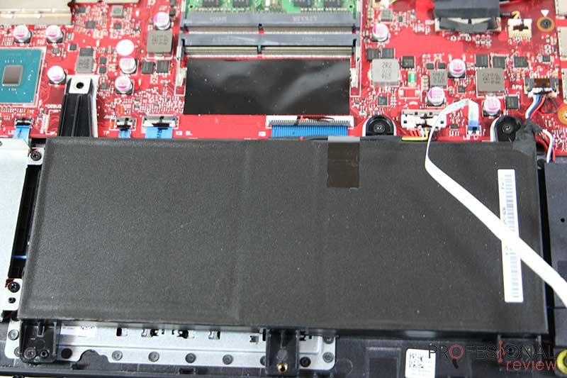 Asus ROG Strix SCAR III G531GW Batería