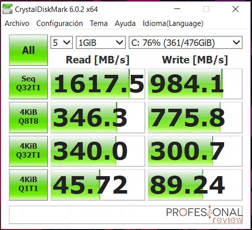 Asus ROG Strix SCAR III G531GW SSD