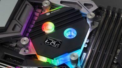 Photo of Bitspower Summit M es un bloque de refrigeración liquida con pantalla OLED