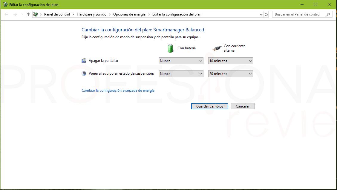 Calibrar la batería del portátil paso04