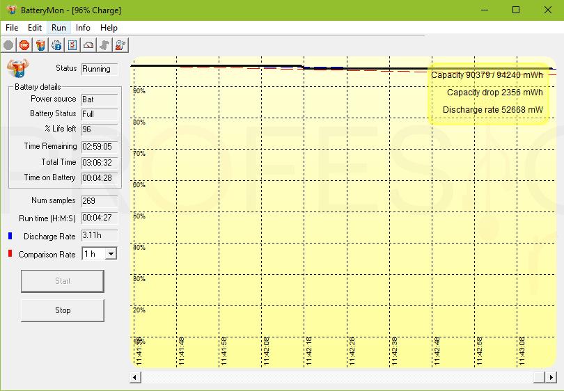 Calibrar la batería del portátil paso07