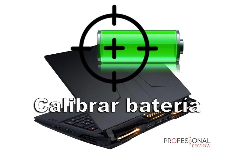 Calibrar la batería del portátil