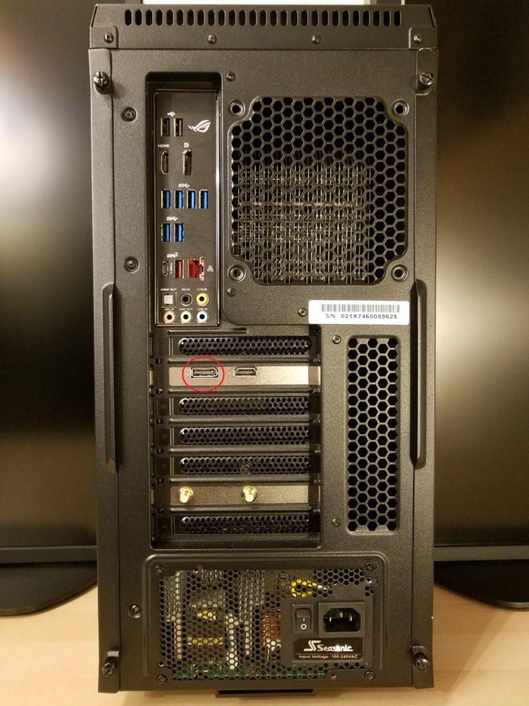 DisplayPort conector