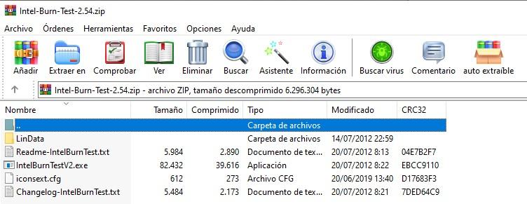Archivos comprimidos