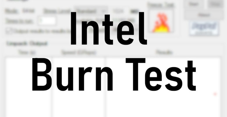 Photo of Intel Burn Test: cómo comprobar la estabilidad de tu CPU