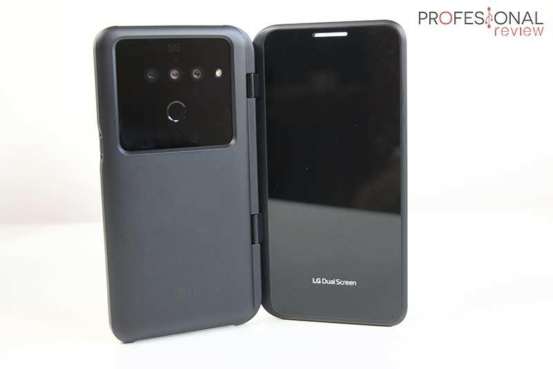 LG V50 ThinQ 5G Diseño
