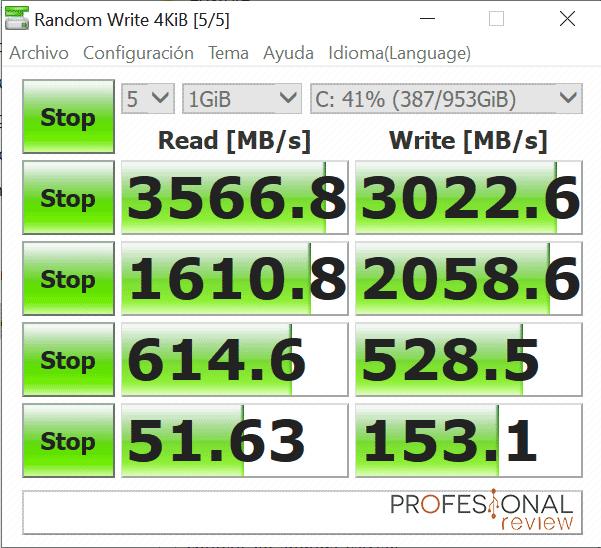 MSI Prestige P100 9 Benchmark SSD