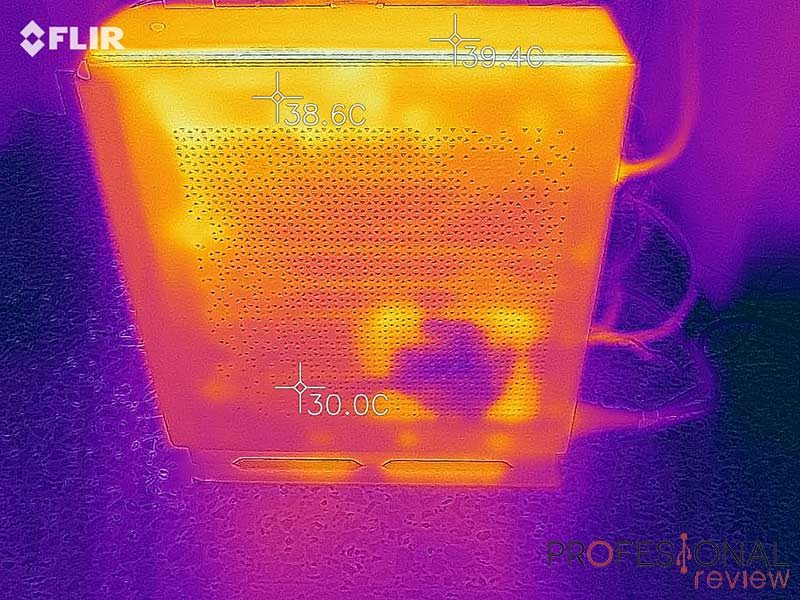MSI Prestige P100 9 Temperatura