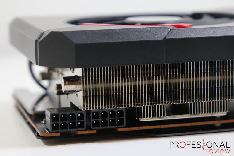 MSI RX 5700 Gaming X Alimentación