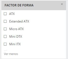 Mini-DTX en PCComponentes