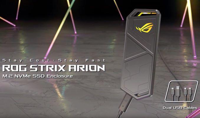 Photo of ROG Strix Arion convierte cualquier SSD M.2 en una unidad externa