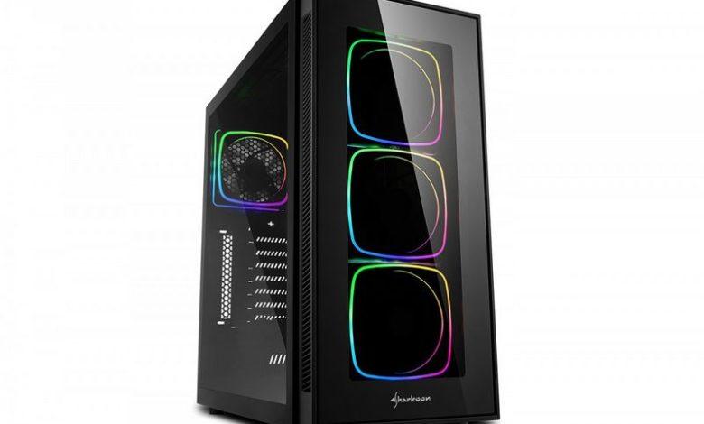 Photo of Sharkoon TG6 RGB es una nueva caja con ventiladores RGB
