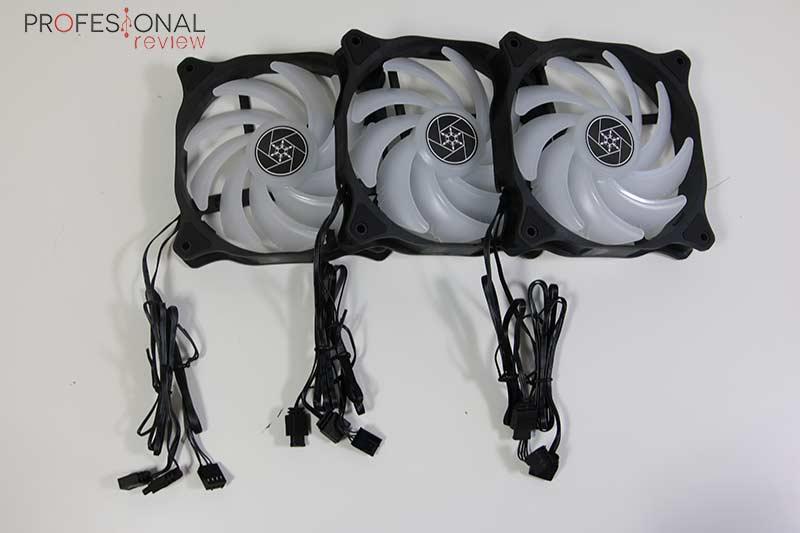 SilverStone PF360-ARGB Ventiladores