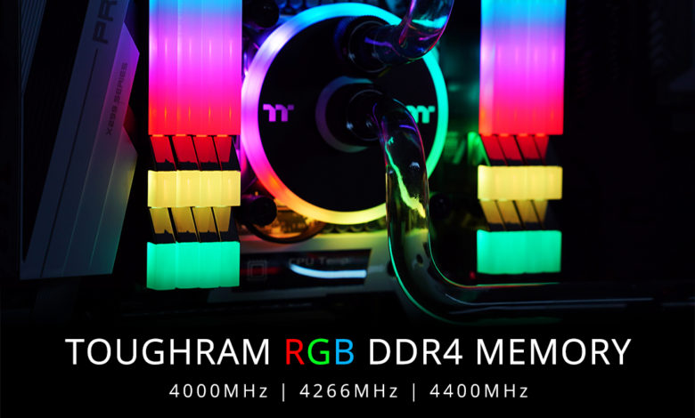 Photo of ThermalTake TOUGHRAM: kits de memoria RAM DDR4 de alta frecuencia