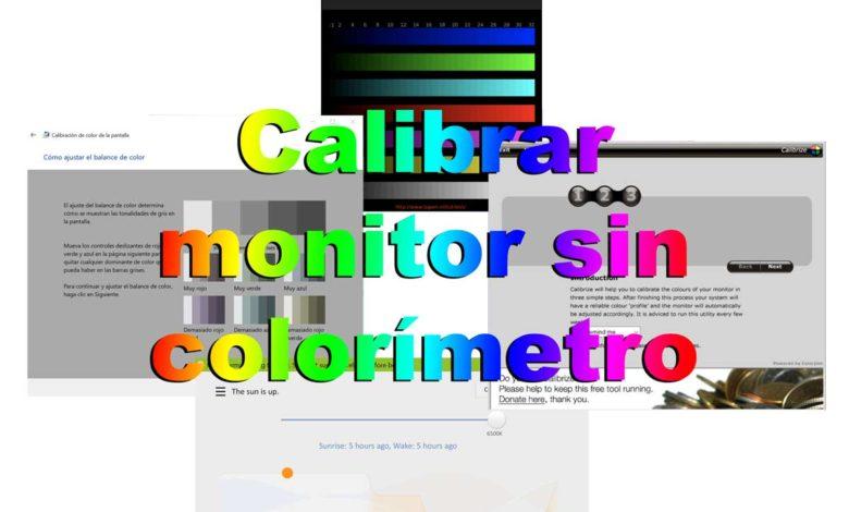 Photo of Cómo calibrar pantalla gratis y sin colorímetro