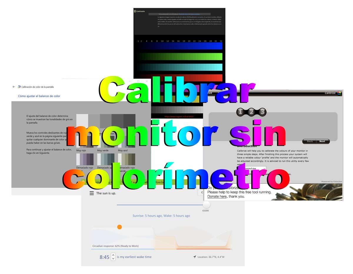 Calibrar pantalla