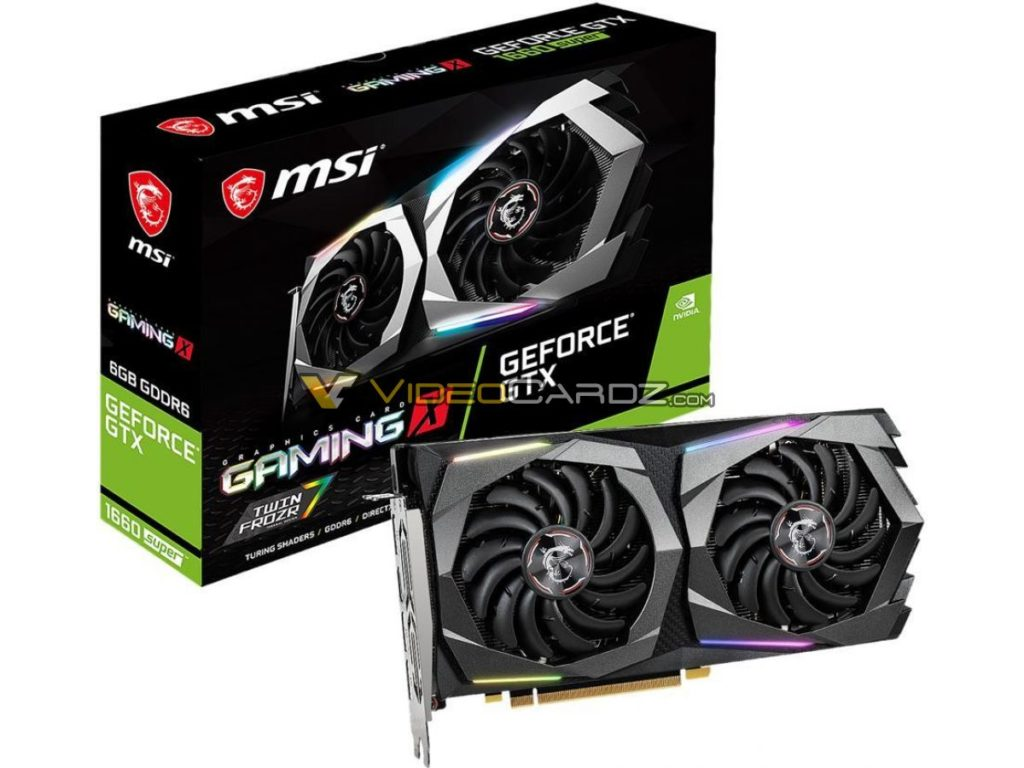 msi GTX 1660 SUPER Gaming X