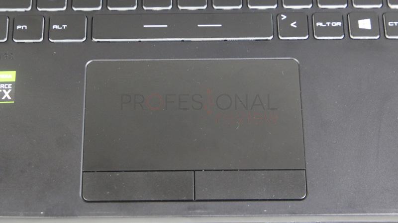 MSI GT76 Titan teclado