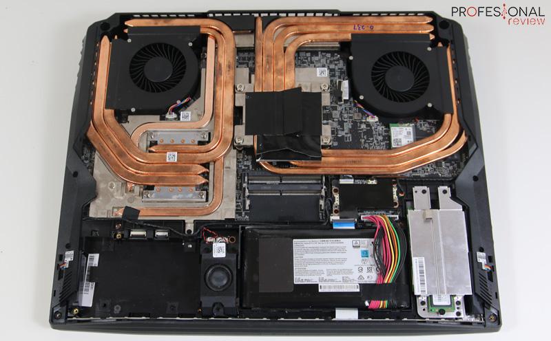 MSI GT76 Titan Disipador