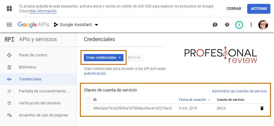 google assistant en pc