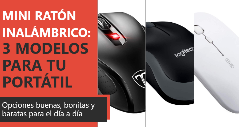 Photo of Mini ratón láser inalámbrico: 3 modelos que puedes comprar para tu portátil