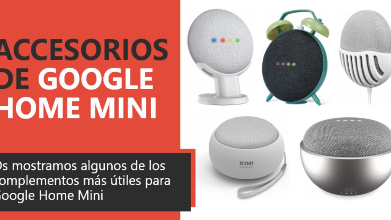 LANMU Soporte Holder para Google Home Mini Retro Clock Case Mount para Google Home Mini Asistentes de voz inteligentes Soporte Holder para Home Mini verde