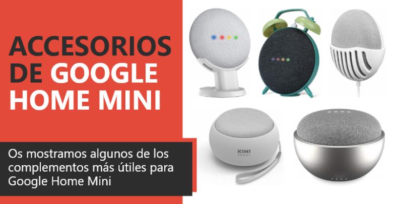 Photo of Accesorios de Google Home Mini
