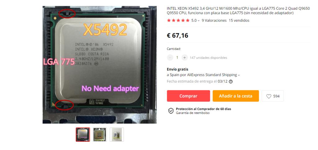 Xeon X5492