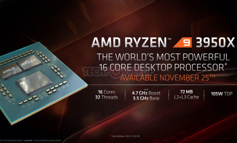 Photo of Ryzen 9 3950X, Threadripper 3000 y Athlon 3000G, AMD anuncia nuevos procesadores