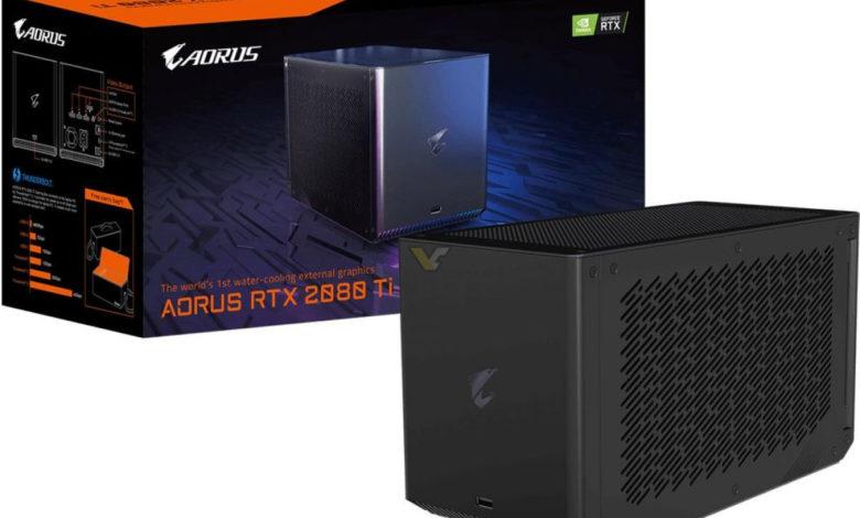 Photo of AORUS Gaming Box: una eGPU con la potencia de una RTX 2080 Ti