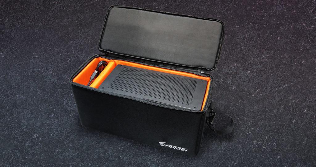AORUS Gaming Box bolsa