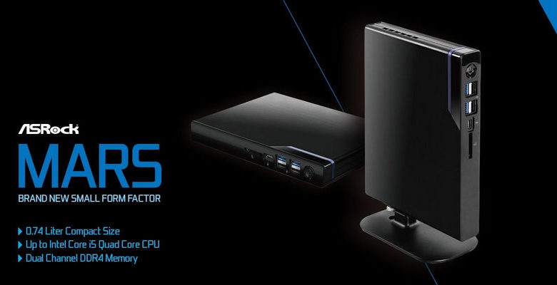 Photo of ASRock Mars, Nueva serie de mini-PCs basado en Intel Core