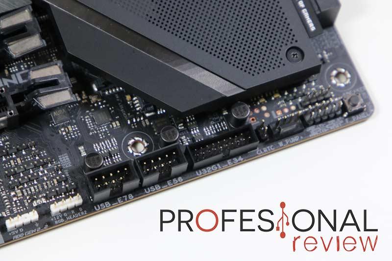 Asus ROG Strix TRX40-E Gaming Puertos internos