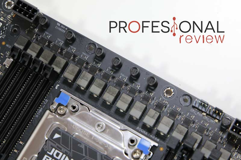 Asus ROG Strix TRX40-E Gaming VRM