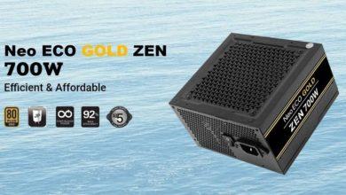 Photo of Antec NeoECO ZEN, nueva serie de fuentes económicas 80 PLUS Gold