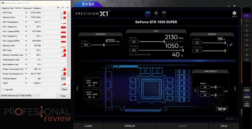 Asus ROG Strix GTX 1650 Super OC Overclocking