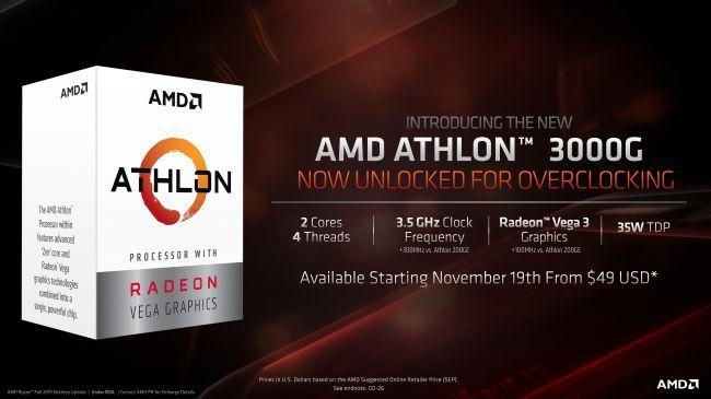 Photo of Athlon 3000G, Nuevo APU de AMD que viene desbloqueado