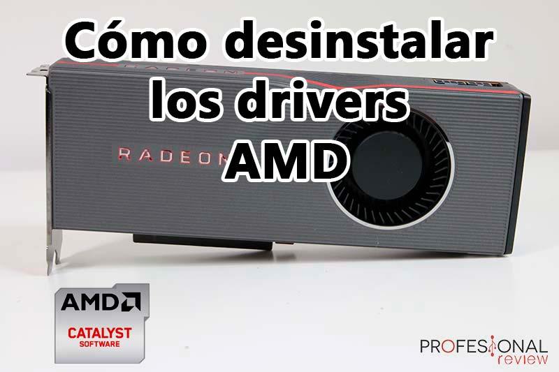 Cómo desinstalar los drivers AMD