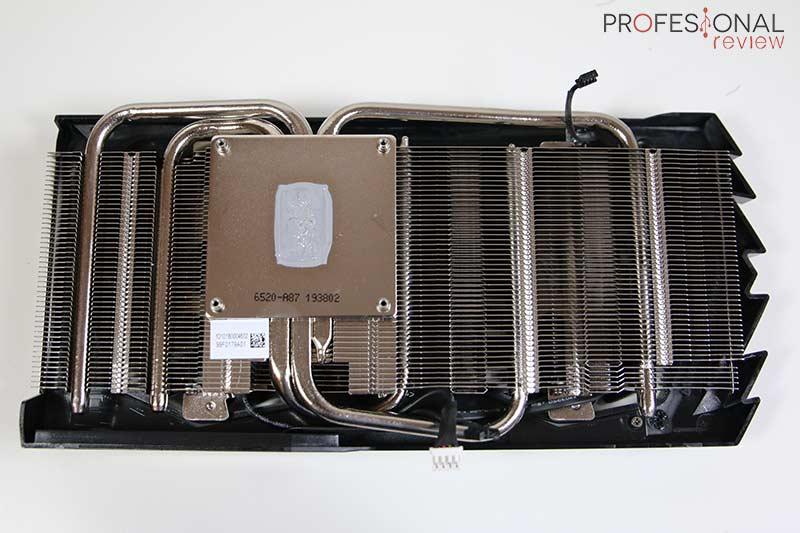MSI GTX 1660 Super Gaming X Disipador
