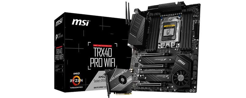MSI-TRX40 PRO WIFI- TRX40 PRO 10G-00