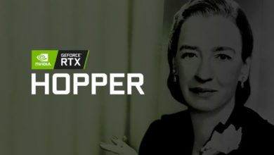 Photo of Hopper, Nvidia registra su marca de GPU de próxima generación