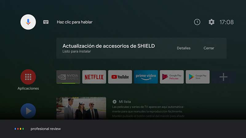 Nvidia SHIELD TV Pro Software