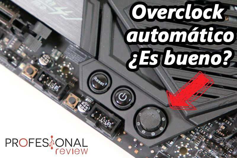 Overclock automático en placa base