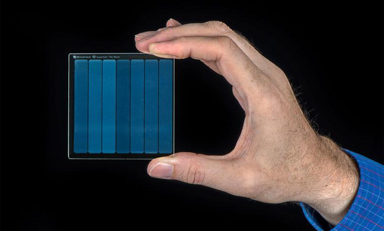 Photo of Proyecto Silica: la memoria óptica de Microsoft basada en vidrio de sílice
