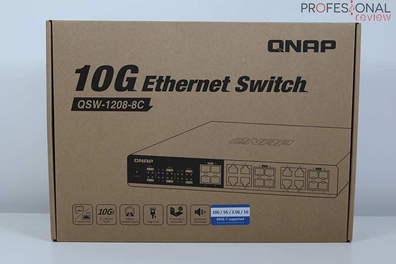 QNAP QSW-1208-8C Review