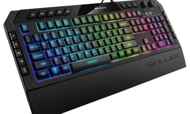 Photo of Sharkoon SKILLER SGK5: un teclado de membrana con iluminación RGB para gamers